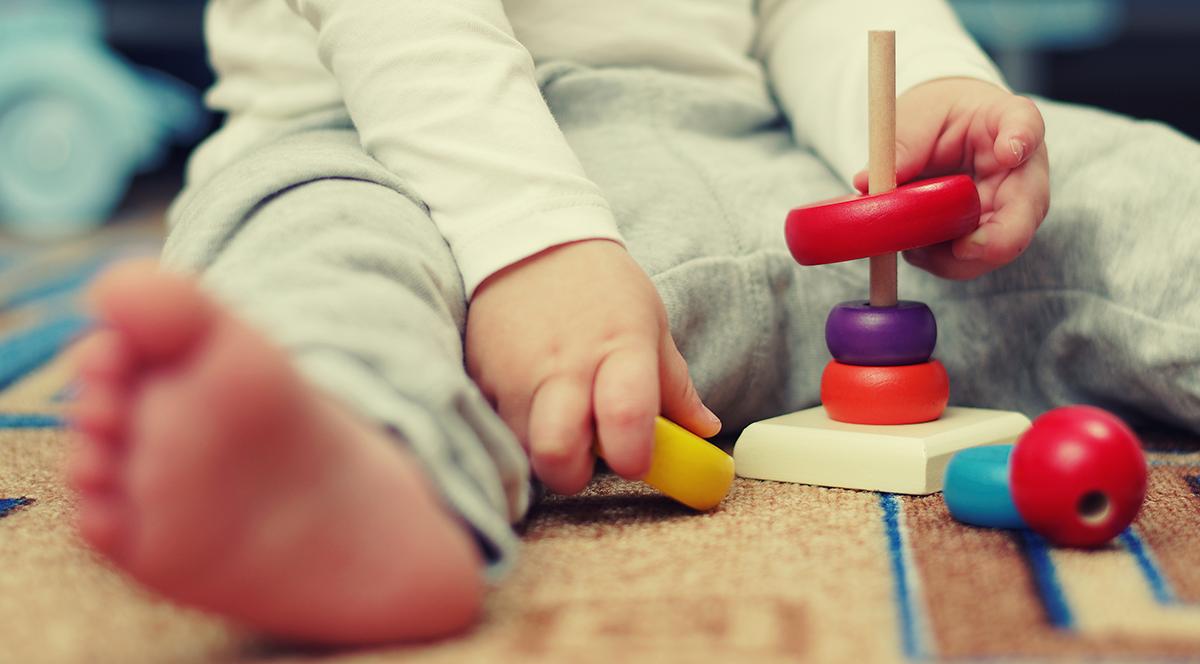 bebé - actividad montessori